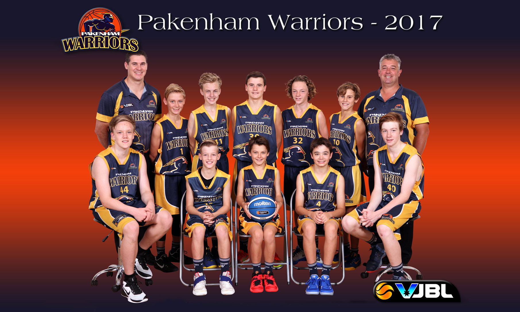 Pakenham Warriors MUVJBL Teams